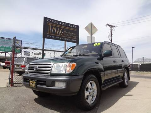 2003 Toyota Land Cruiser for sale at THE MANHATTAN AUTO GROUP in Greeley CO