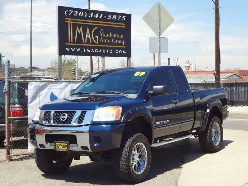 2008 Nissan Titan for sale at THE MANHATTAN AUTO GROUP in Greeley CO