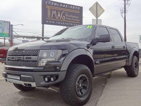 2011 Ford F-150 for sale at THE MANHATTAN AUTO GROUP in Greeley CO