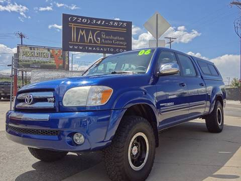 2006 Toyota Tundra for sale at THE MANHATTAN AUTO GROUP in Greeley CO