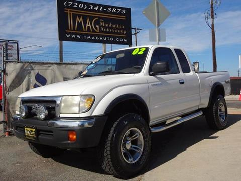 2000 Toyota Tacoma for sale at THE MANHATTAN AUTO GROUP in Greeley CO