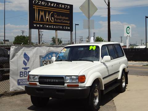 1994 Toyota Land Cruiser for sale at THE MANHATTAN AUTO GROUP in Greeley CO