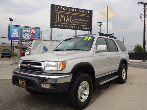 1999 Toyota 4Runner for sale at THE MANHATTAN AUTO GROUP in Greeley CO