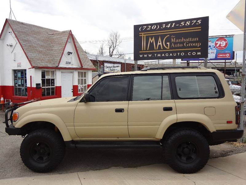 1993 Toyota Land Cruiser AWD 4dr SUV - Greeley CO