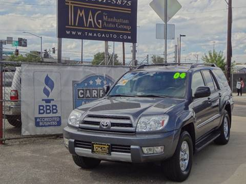 2004 Toyota 4Runner for sale at THE MANHATTAN AUTO GROUP in Greeley CO