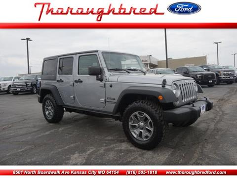 2017 Jeep Wrangler Unlimited for sale in Kansas City, MO