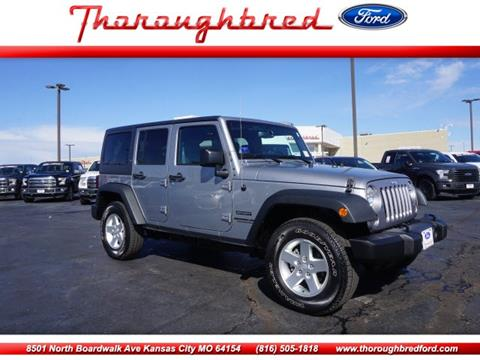 2016 Jeep Wrangler Unlimited for sale in Kansas City, MO