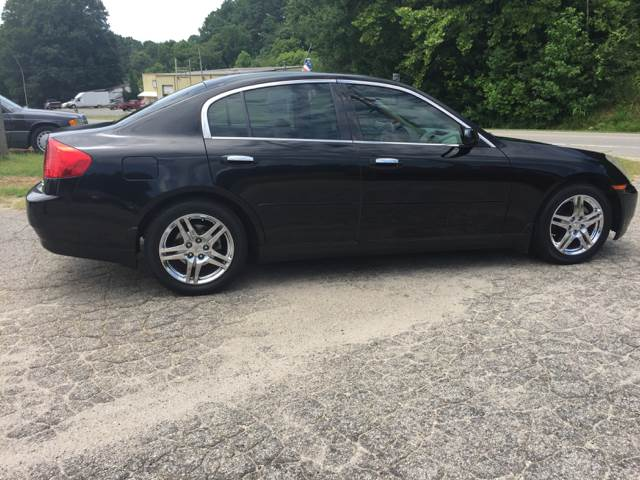 2004 Infiniti G35 Rwd 4dr Sedan w/Leather - Statesville NC