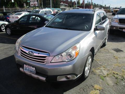 2010 Subaru Outback for sale in Seattle, WA