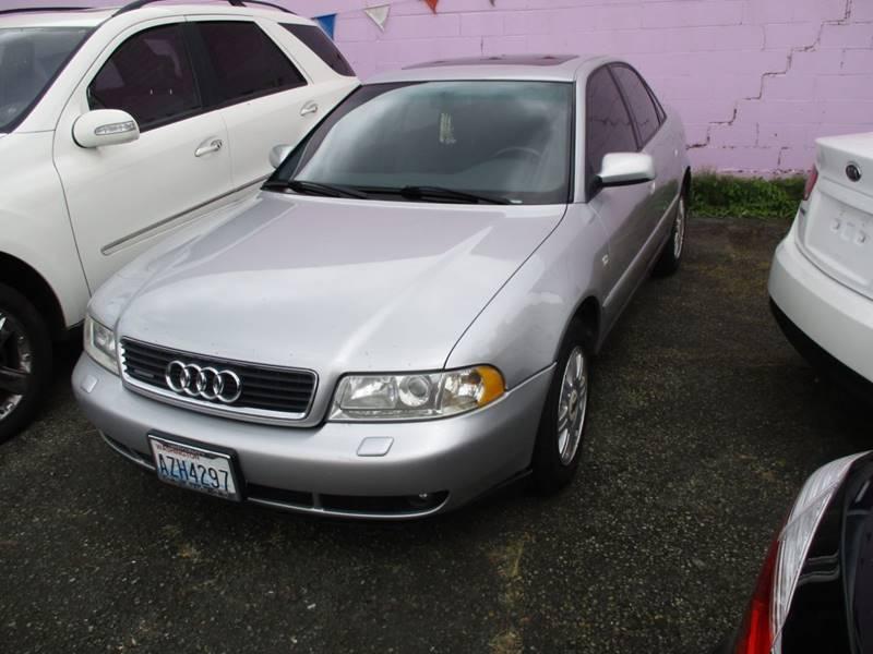 2001 Audi A4 Awd 18t Quattro 4dr Sedan In Seattle Wa Sns Auto Sales