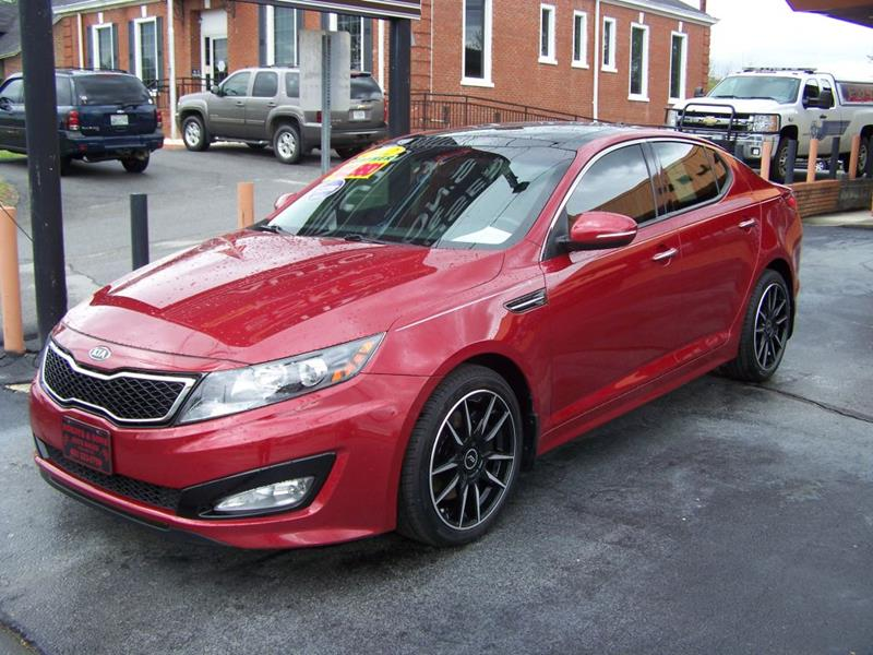 2012 Kia Optima SX Turbo 4dr Sedan 6A   Blountville TN