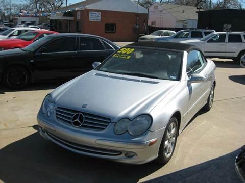 2004 Mercedes-Benz CLK for sale at DFW Auto Provider in Haltom City TX