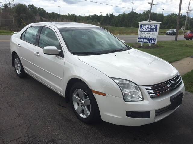2009 Ford Fusion V6 SE 4dr Sedan - Youngstown OH