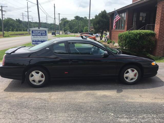 2003 Chevrolet Monte Carlo SS 2dr Coupe - Youngstown OH