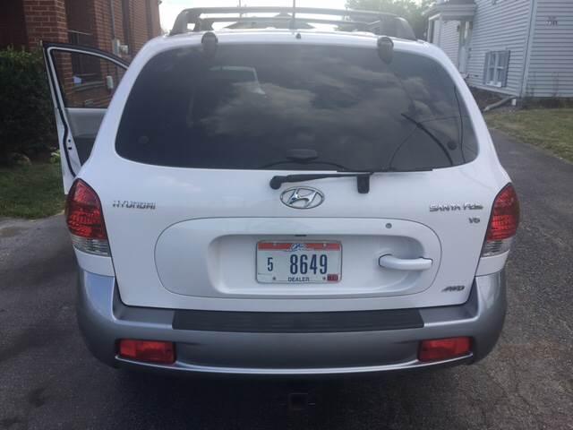 2006 Hyundai Santa Fe AWD GLS 4dr SUV w/2.7L V6 - Youngstown OH
