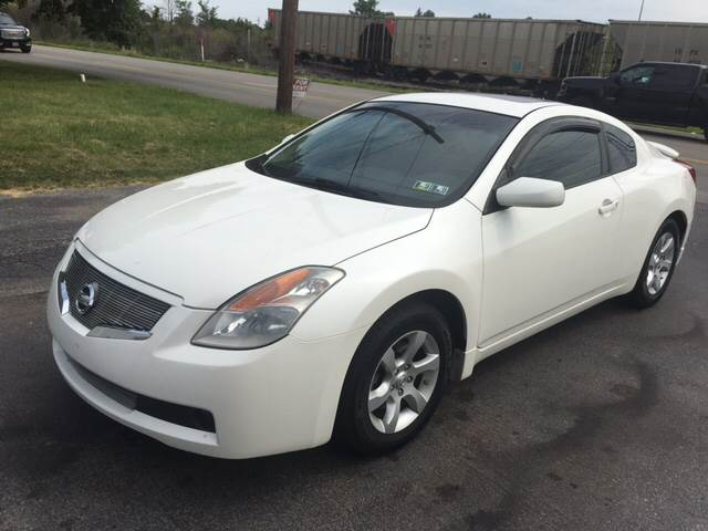 2008 Nissan Altima 2.5 S 2dr Coupe CVT - Youngstown OH