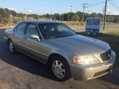 2002 Acura RL for sale in Youngstown, OH