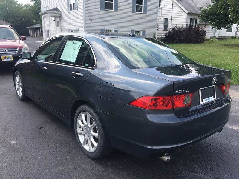 2008 Acura Tsx 4dr Sedan 5A In Youngstown OH - SIMPSON MOTORS on