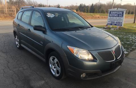 2007 Pontiac Vibe for sale in Youngstown, OH