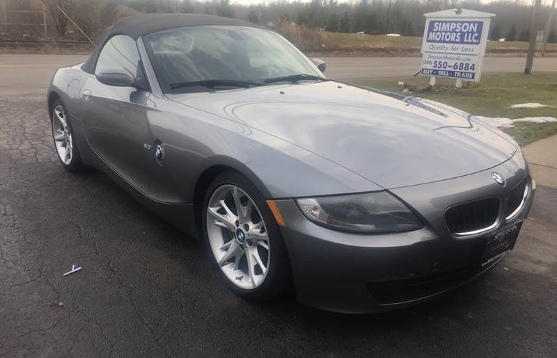 2008 Bmw Z4 3 0i 2dr Convertible In Youngstown Oh