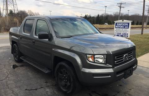 2008 Honda Ridgeline for sale in Youngstown, OH