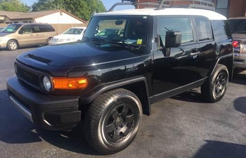 Used Fj Cruiser >> Used Toyota Fj Cruiser For Sale In Ohio Carsforsale Com