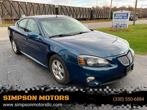 2005 Pontiac Grand Prix for sale in Youngstown, OH