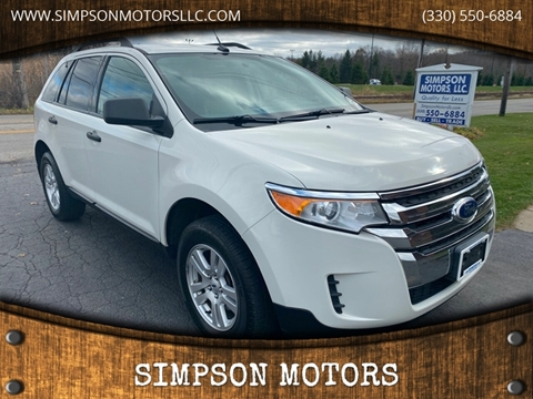 2011 Ford Edge for sale at SIMPSON MOTORS in Youngstown OH