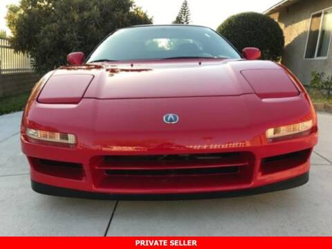 2000 Acura NSX for sale at SIMPSON MOTORS in Youngstown OH