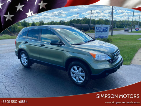 2008 Honda CR-V for sale at SIMPSON MOTORS in Youngstown OH