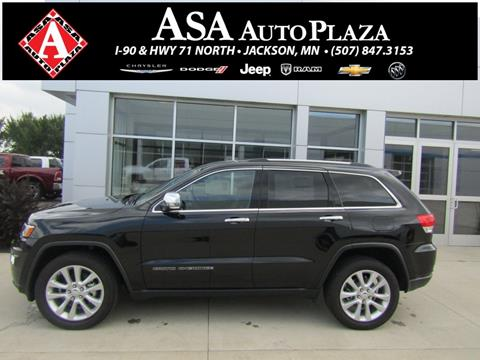2017 Jeep Grand Cherokee for sale in Jackson, MN