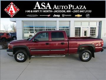 2005 Chevrolet Silverado 2500HD for sale in Jackson, MN