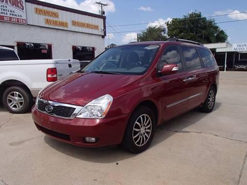 2012 Kia Sedona for sale in Cleburne, TX