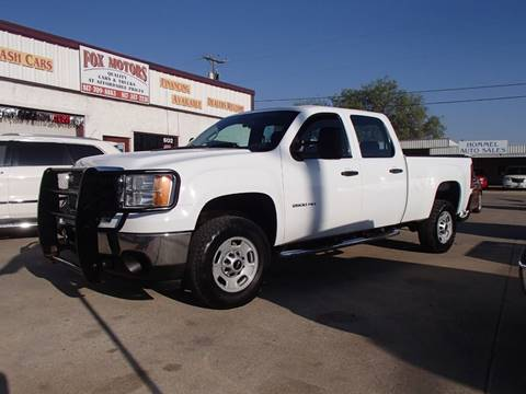 2012 GMC Sierra 2500HD for sale in Cleburne, TX