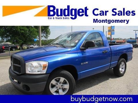 2008 Dodge Ram Pickup 1500 for sale in Montgomery, AL