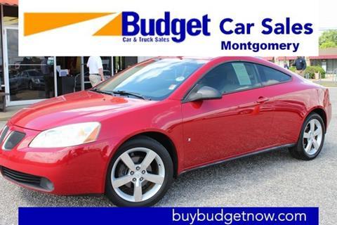 2007 Pontiac G6 for sale in Montgomery, AL