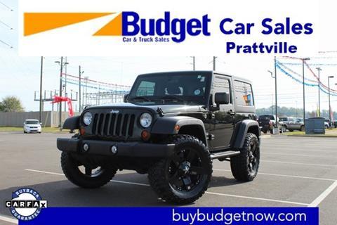 2012 Jeep Wrangler for sale in Montgomery, AL