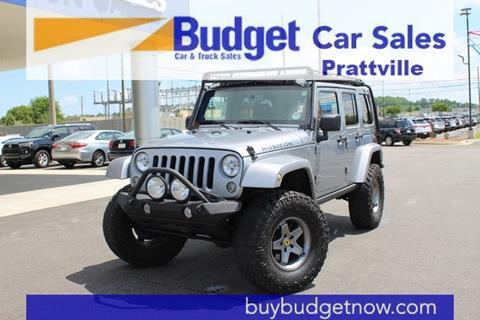 2014 Jeep Wrangler Unlimited for sale in Montgomery, AL