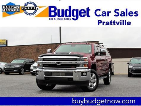 Used Car Dealerships In Montgomery Al >> 2018 Chevrolet Silverado 2500hd For Sale In Montgomery Al