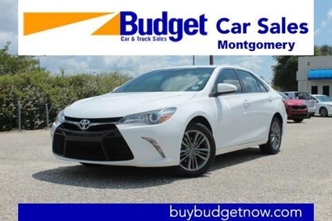 2017 Toyota Camry for sale in Montgomery, AL