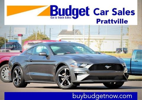 2018 Ford Mustang for sale in Montgomery, AL