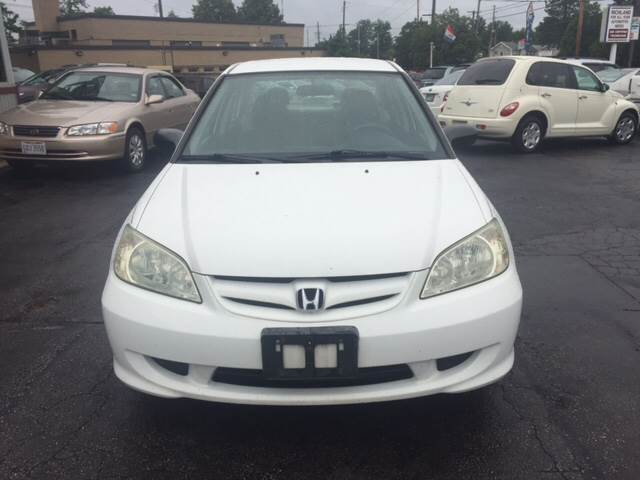 2004 Honda Civic Value Package 4dr Sedan - Cleveland OH