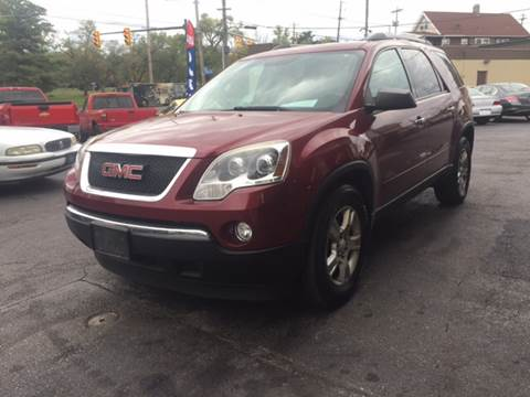 2011 GMC Acadia for sale in Cleveland, OH