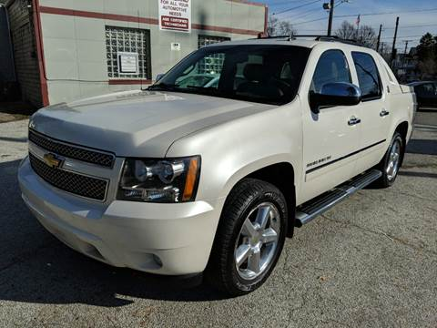 2013 Chevrolet Avalanche LTZ Black Diamond for sale at Richland Motors in Cleveland OH