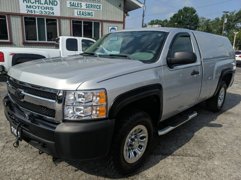 2011 Chevrolet Silverado 1500 for sale at Richland Motors in Cleveland OH