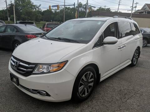 2015 Honda Odyssey for sale at Richland Motors in Cleveland OH