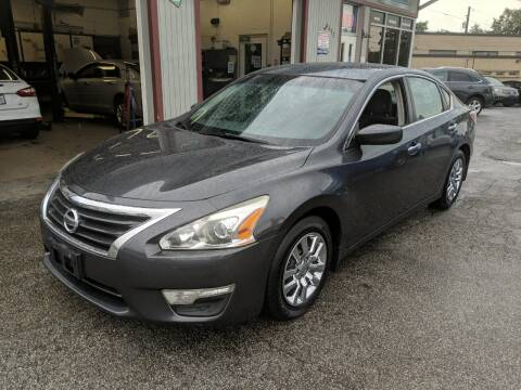 2013 Nissan Altima for sale at Richland Motors in Cleveland OH