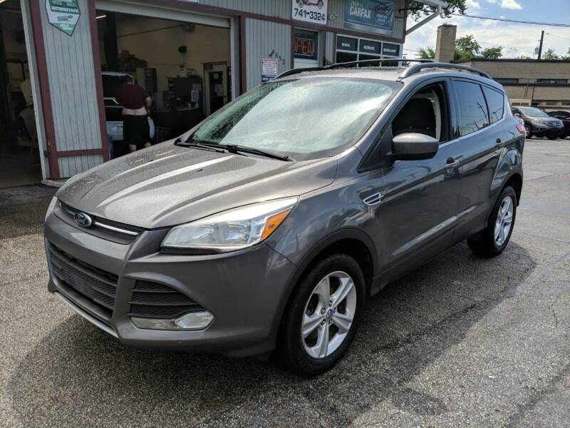 2013 Ford Escape for sale at Richland Motors in Cleveland OH