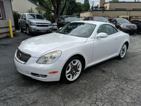 2007 Lexus SC 430 for sale at Richland Motors in Cleveland OH