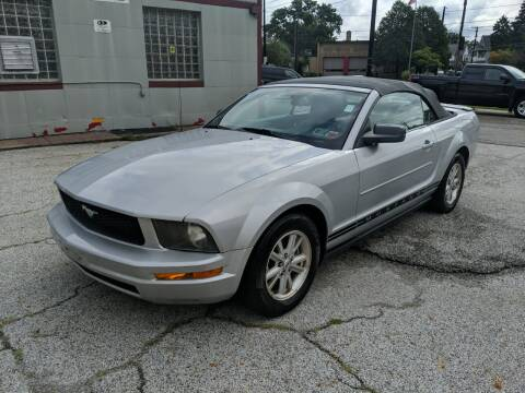 2007 Ford Mustang for sale at Richland Motors in Cleveland OH
